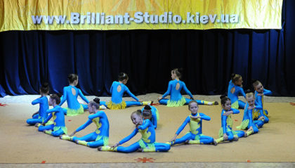 """эстетическая гимнастика в школе """"Brilliant"""""""